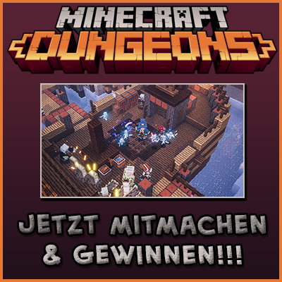 Minecraft Dungeons Spiel gewinnen