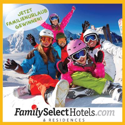 Urlaub für die ganze Familie gewinnen!