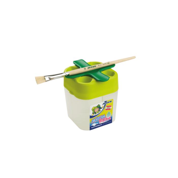 Wasserbehälter mit Auslaufschutz zum Zeichnen und Malen