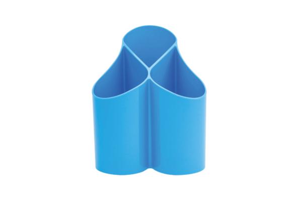 Stiftehalter Loop blau für den Schreibtisch