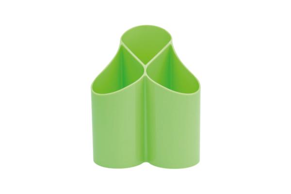 Stiftehalter Loop grün für den Schreibtisch