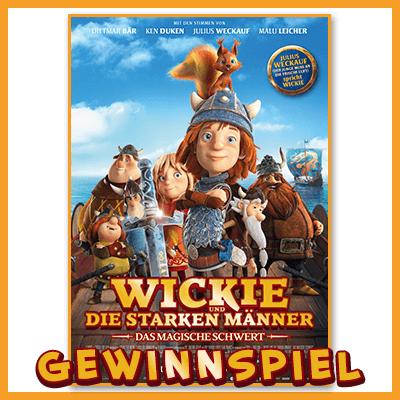 Gewinnspiel für Kinder Wickie Film